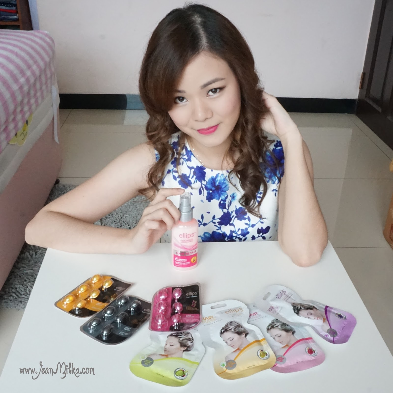 Sponsored My Everyday Hair Routine With Ellips Hair Treatment Jean Milka