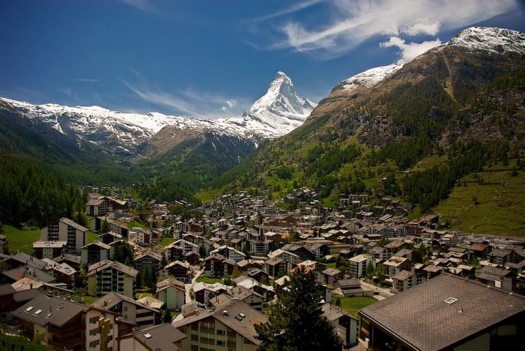 اجمل المدن الصغيرة في سويسرا
