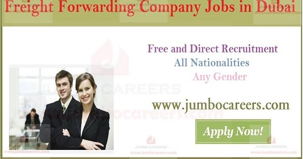 Freight Forwarding Company Jobs in Dubai