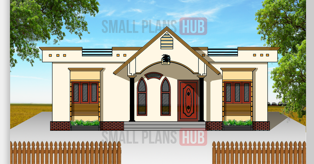 Kerala Model 3 Bedroom House Plans Total 3 House Plans Under 1250 Sq Ft Small Plans Hub