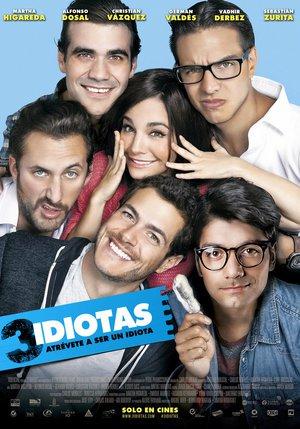 Poster 3 Idiotas 2017