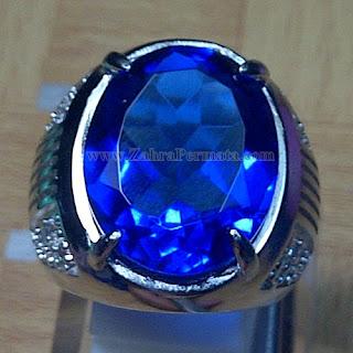 Cincin Batu Blue Obsidian - ZP 862