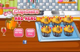 Game làm bánh cupcake hảo hạng vui vẻ