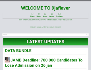 9jaflaver Blogger Template Free Download |