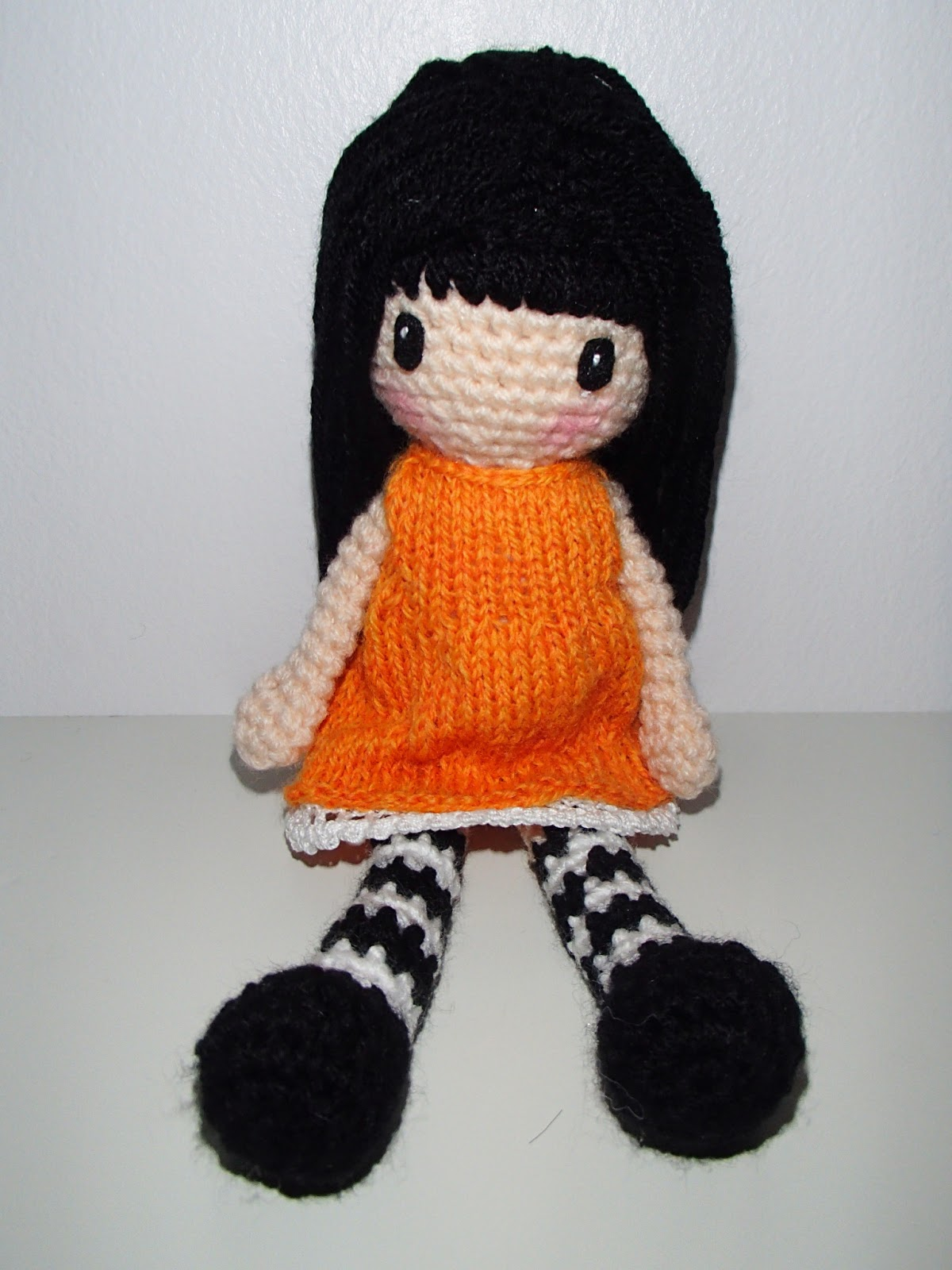 Crochet Gorjuss doll, collection crochet dolls, collectible dolls ... | 1600x1200