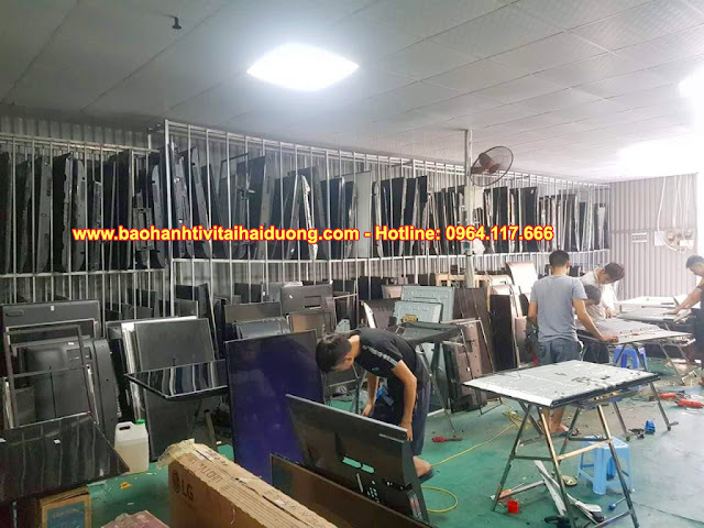 Hình ảnh: Xưởng sửa tivi tại Hải Dương