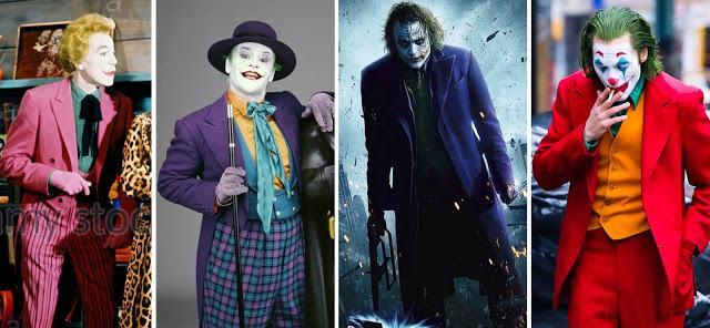 Todos los Jokers del cine