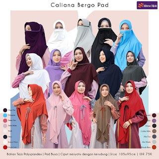 Koleksi Jilbab Nibras Caliana Bergo Pad