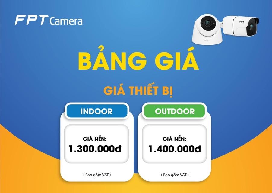 Camera FPT giá bao nhiêu ? Phí lắp đặt như thế nào ?