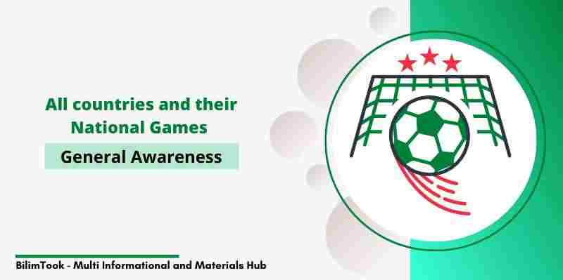 List of All Countries and their National Games - PDF