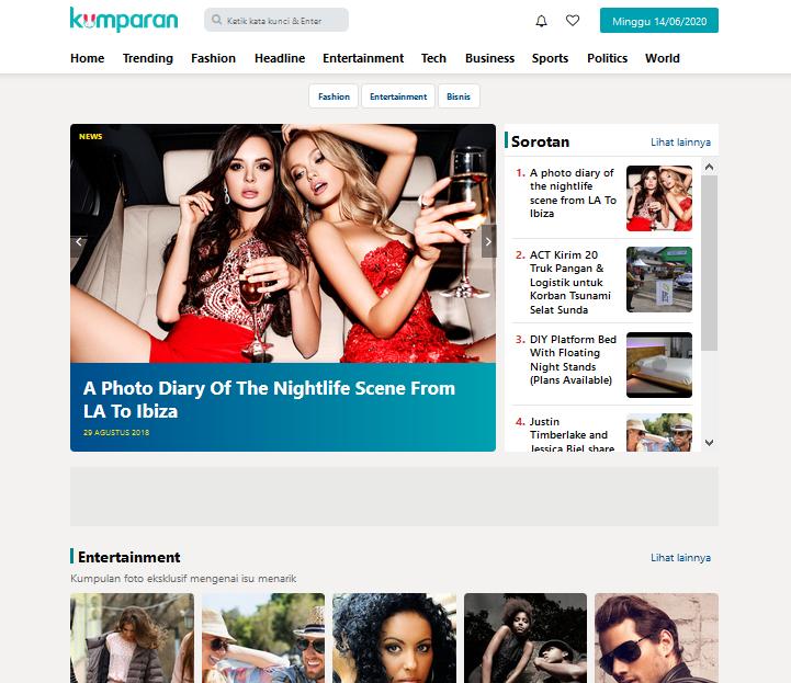 Kumparweb - Professional Blogger News & Magazine