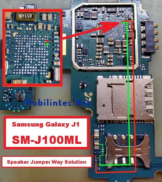 Repair Samsung Galaxy J1 Ringer Problem Way Jumper Solution