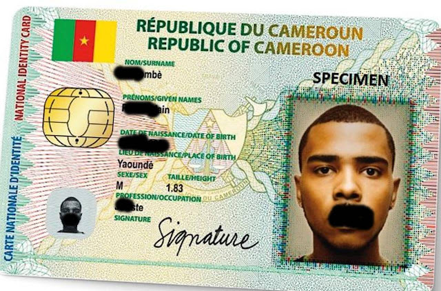 Cameroon National ID Card / Passport can now Verified Online1