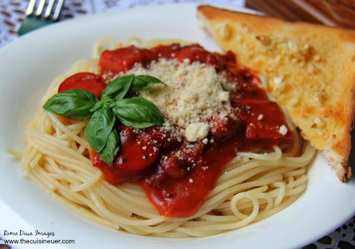 Sweet Spaghetti Recipe