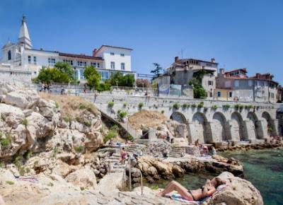 Turismo en Rovinj, Croacia