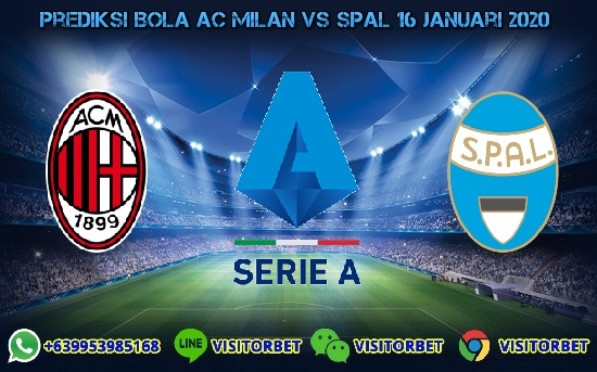 Prediksi Skor AC Milan vs SPAL 16 Januari 2020