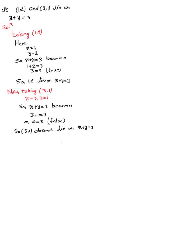 Class nine, opt math. Locus