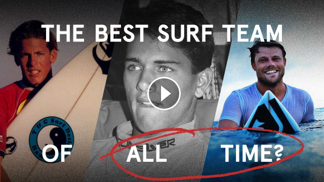 Securing The Greatest Team In The History Of Surfing Quiksilver