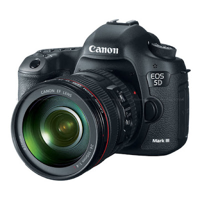 Canon EOS 5D Mark III DSLRフルドライバーをダウンロード