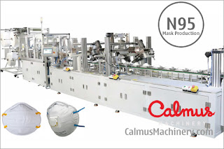 Fully-automatic N95/FFP2 Cup Shaped Respirator Mask Production Line