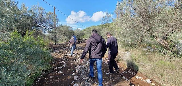 Ζημιές και στο Δήμο Επιδαύρου άφησε πίσω της η θεομηνία
