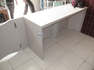 Front Desk Meja Kasir - Furniture Semarang