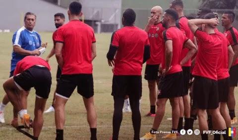 """Vinotinto con confianza en obtener un """"buen resultado"""" ante la Colombia"""