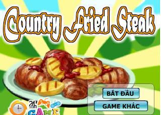 Game gà nướng khoai tây ngon nhất