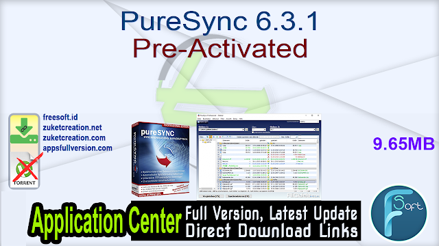 PureSync 6.3.1 Pre-Activated