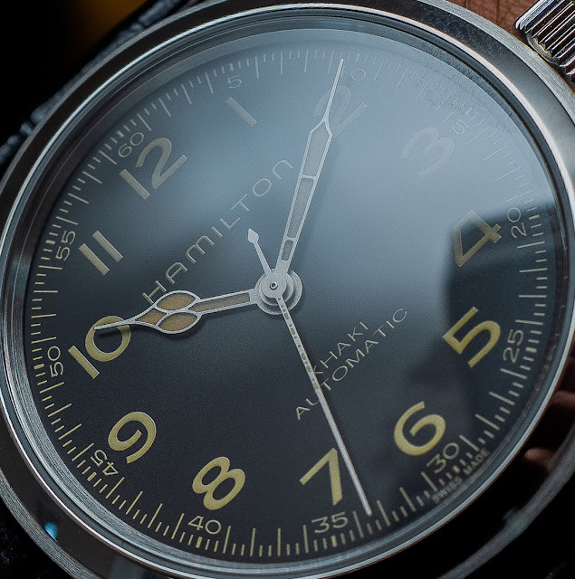 "Hamilton Khaki Field ""Murph"" Watch From ""Interstellar"" Hands-On"