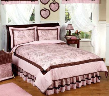 Pink and brown bedroom decorating ideas bedroom for Brown and red bedroom decorating ideas