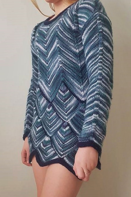 crochet pulover pattern