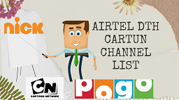 cartun channel airtel dth (dth help)