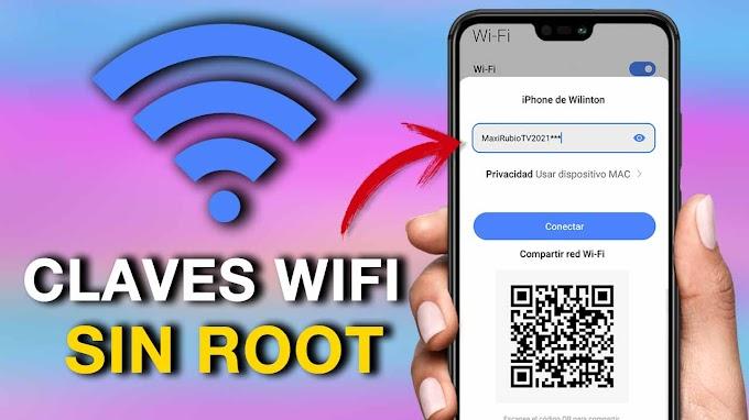 Como ver contraseñas Wifi guardadas en Android 2021