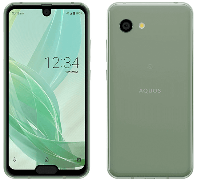 The Sharp Aquos Crystal from years earlier started the bezel Sharp Aquos R2 Compact amongst ridiculous dual notch pattern immediately official