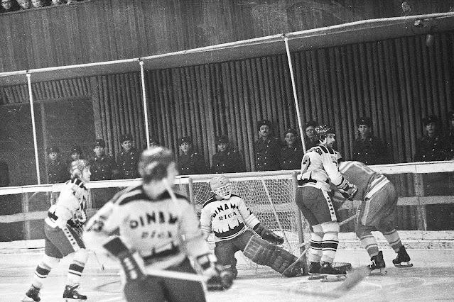 1976-1977 гг. Динамо (Рига) в Челябинске