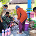 Babinsa Bantu Buat Cairan Disinfektan Mandiri
