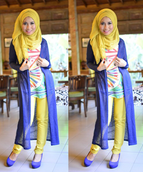 Ryani S Boutique Mix And Match Warna Baju Hijab Yang Bikin Segar