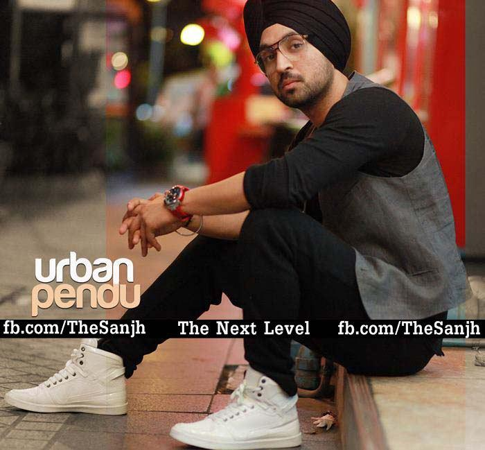 """Some pics of diljit and honey singh's new album """"THE SANJH ..."""