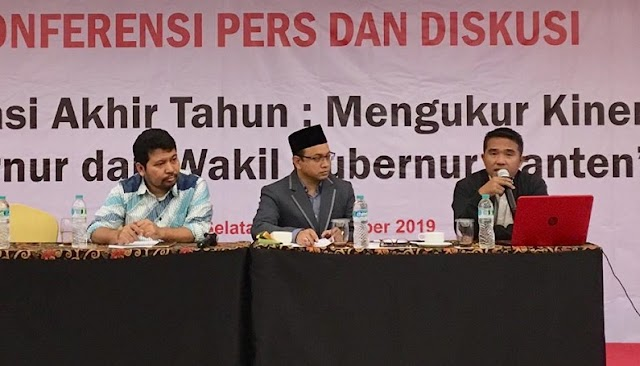 VISI : Kinerja Gubernur Banten Wahidin Halim Memuaskan