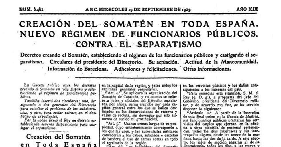 Saltimbanquiclicclic 94 a os del real decreto de primo de for Clausula suelo real decreto 1 2017