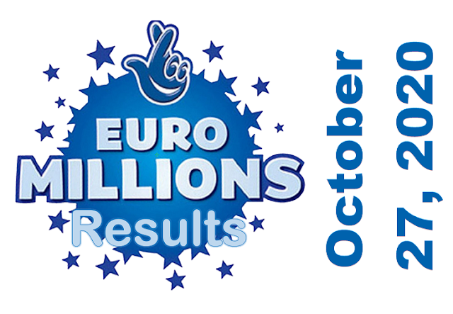 EuroMillions Results for Tuesday, October 27, 2020