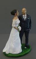 sposini personalizzati top cake idea regalo sposi lombardia orme magiche