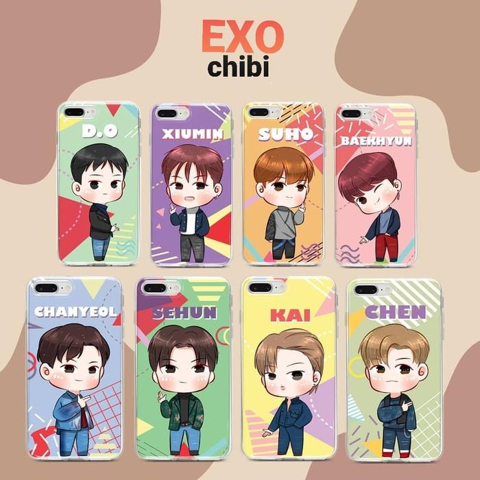 Custom Case EXO Chibi