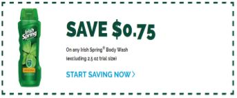 irish spring coupon