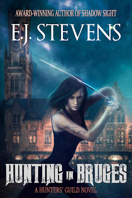 Hunting in Bruges (Hunters' Guild #1) by E.J. Stevens Urban Fantasy Horror