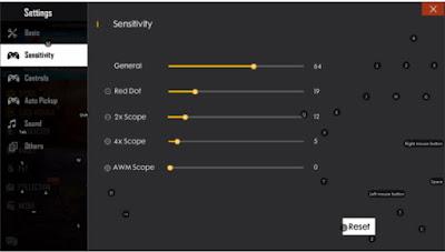 Sensitivitas Ruok FF Asli Auto Headshot Terbaru