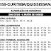 Horário de ônibus E68 CURITIBA / QUISSISSANA 2020 | São José dos Pinhais PR