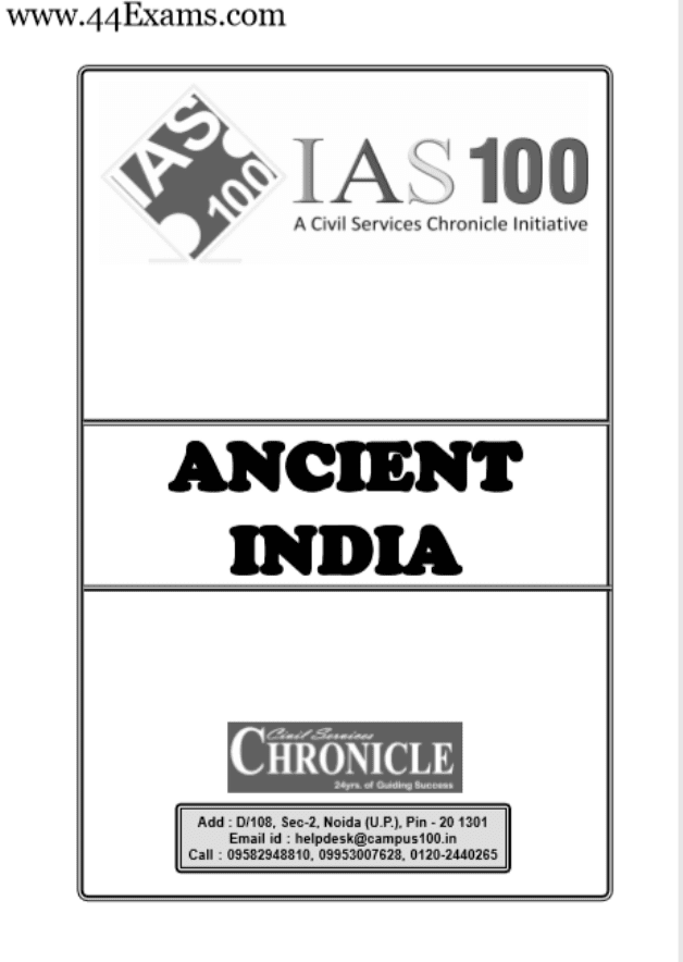 Ancient-India-by-Chronicle-IAS-Academy-For-UPSC-Exam-PDF-Book