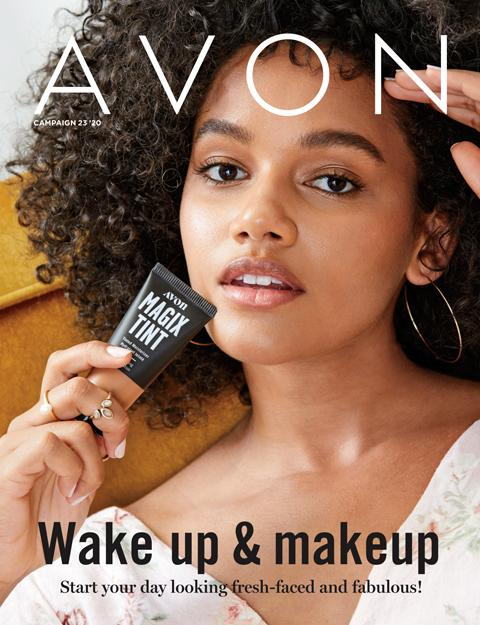 AVON Brochure Flyer Campaign 23 2020 - Wake Up & Makeup!